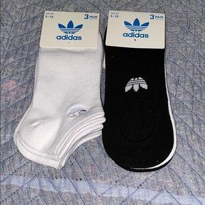 Adidas no-show socks